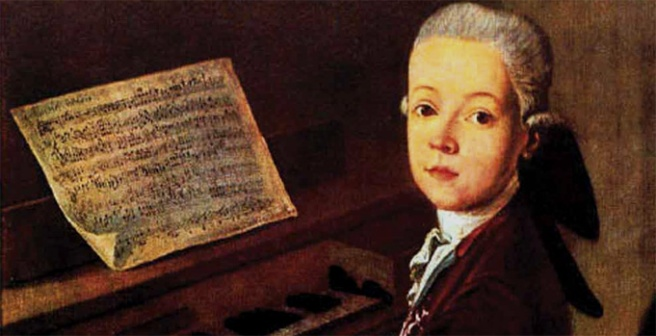 Wolfgang Amadeus Mozart - first composition at the age of 5, died when 35 years old.